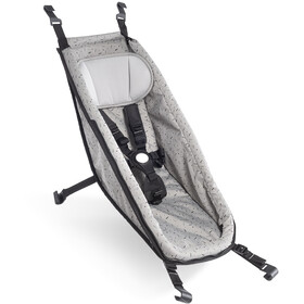 Croozer Babysæde til Kid fra 2014, stone grey/colored